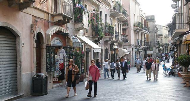 Uličky Sicílie
