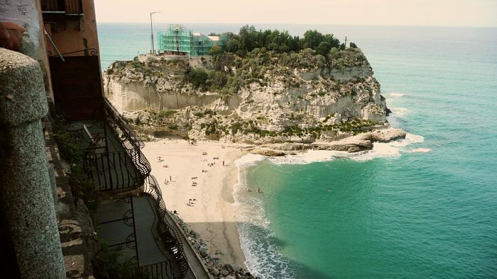 Město Tropea, Kalábrie 55+