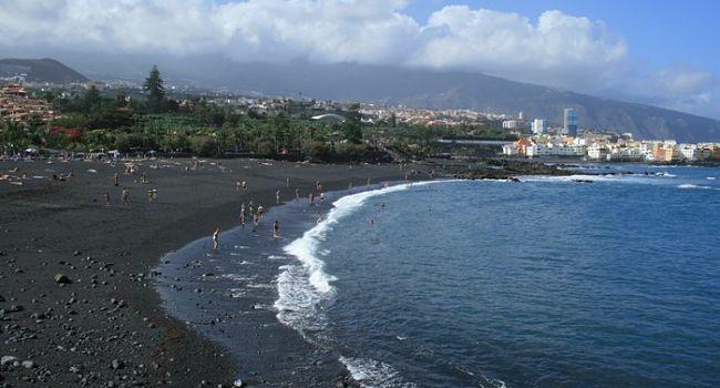 Černé pláže na Tenerife